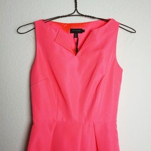 Ted Baker London Dresses - Ted Baker bright pink Halina dress